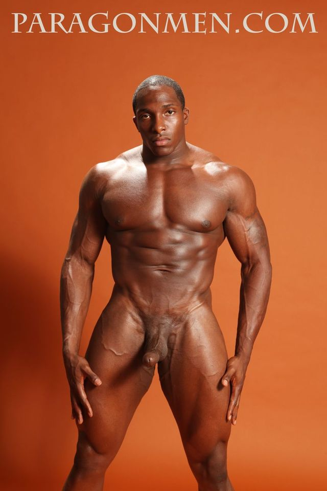 Adonis' big black cock muscle hunk off pic black men cock his paragon hung bodybuilder tyrese jacks henderson