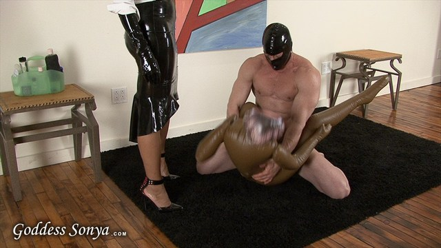 Adonis' big black cock muscle sucks black video photos slave leather strap mask dominatrix