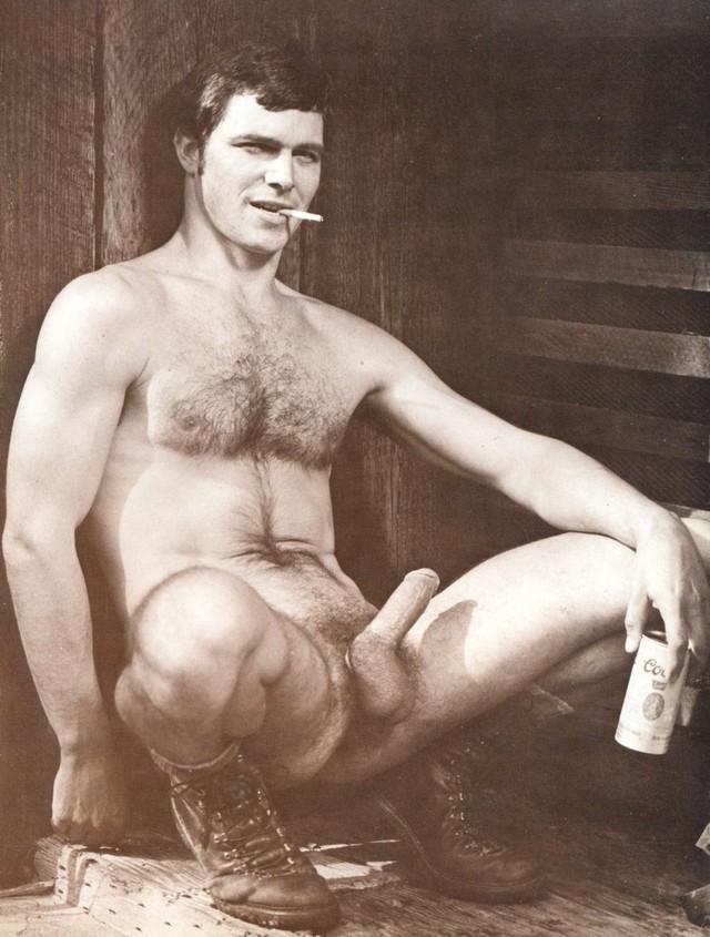 Ретро порно фото мужчин
