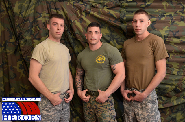 all gay men porn muscle porn his gay all fucking fuck guys army amateur real cocks american heroes cum sergeant slate triple privates their mouth