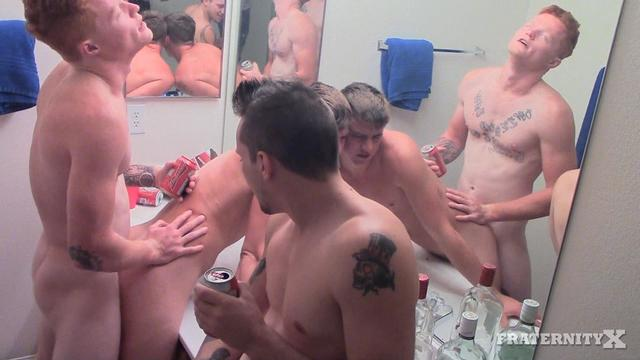 amature gay sex Pic porn gets gay fucked boy college guys amateur bareback fraternity frat party shower