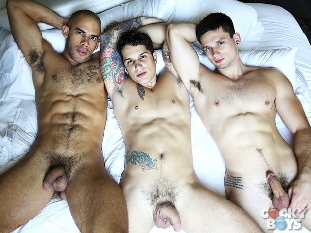 Anthony Romero Porn anthony romero pierre fitch threeway cockyboyz