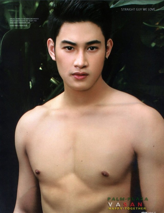 Thai gay male porn models