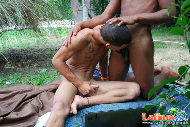 back gay porn stud his oral tattooed latin mate back came benefit