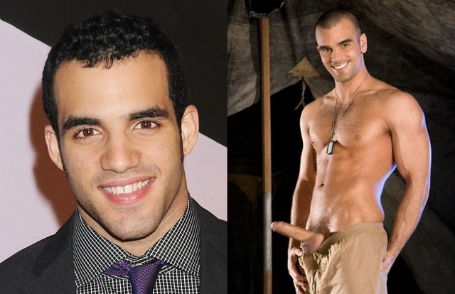 best gay male porn stars porn gay star damien crosse gymnast separated birth olympic reals dameindanell danell leyva