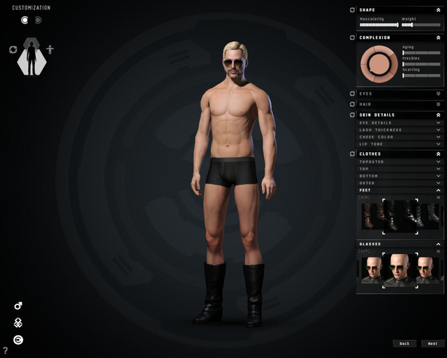 best gay porn games eve five percydbradp minutes character creator