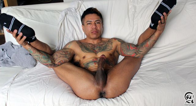 big dick gays porn porn cock his gay mexican amateur latino daddy alternadudes maxx sanchez tatted mouth shot load