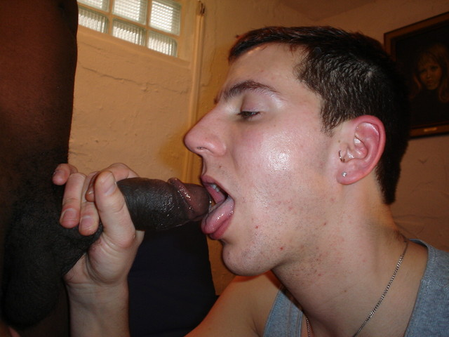Straight Boys First Big Black Cock