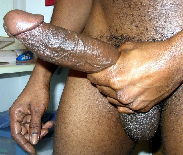 Big black monster gay cocks