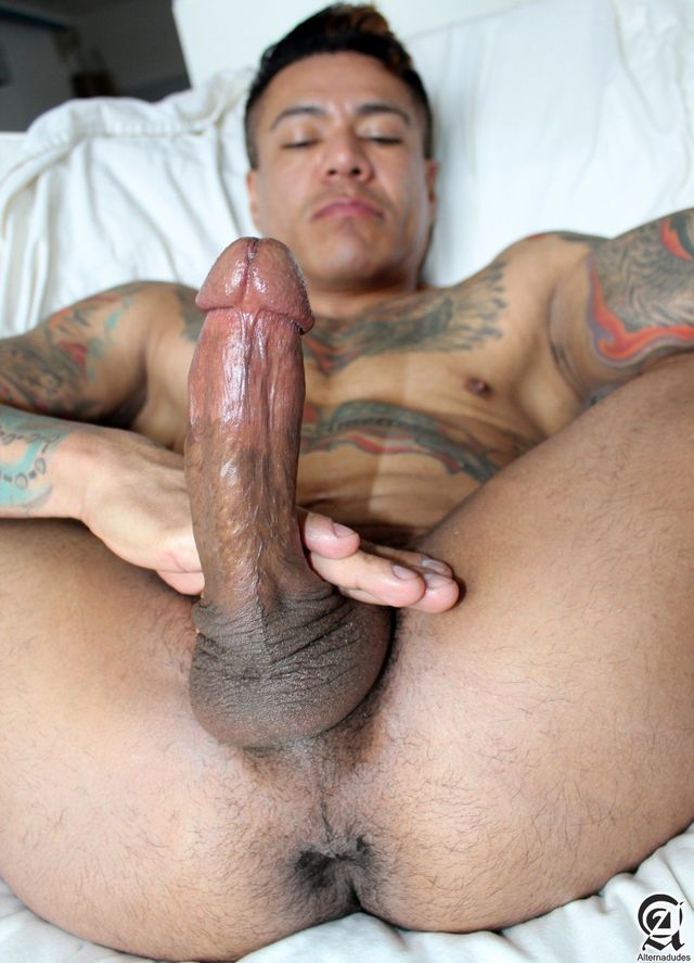 big gay porn Pics porn cock his gay mexican amateur latino daddy alternadudes maxx sanchez tatted mouth shot load