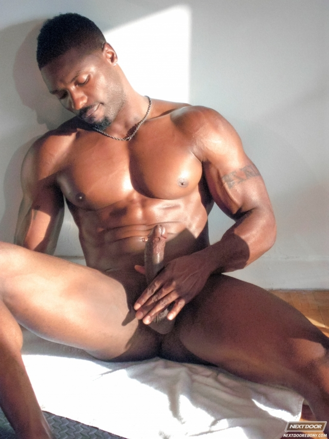 black muscle porn gay