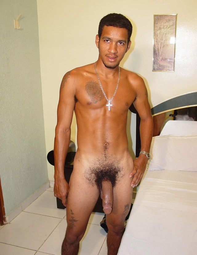 Nude black male models