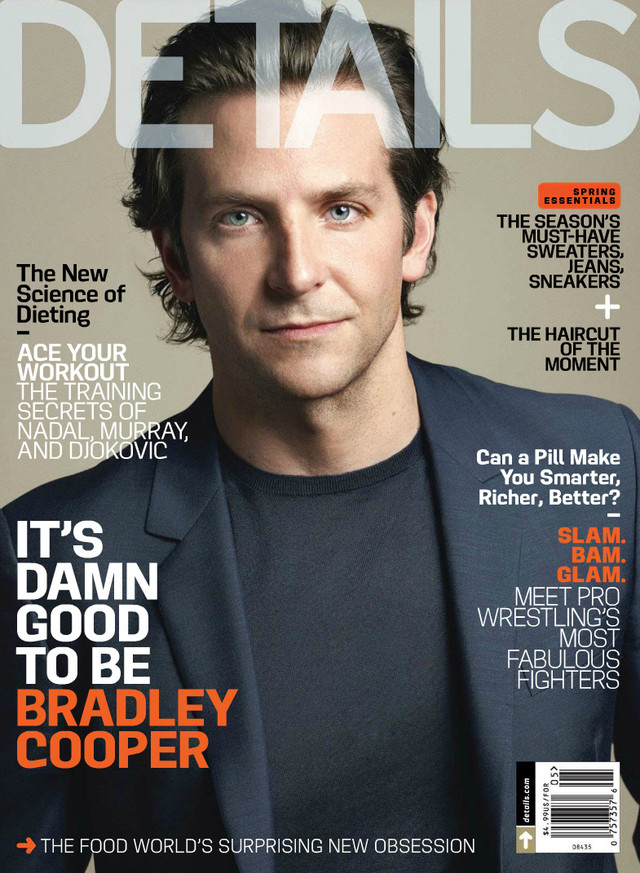 Bradley Cooper Gay Nude magazine may bradley cooper details covers
