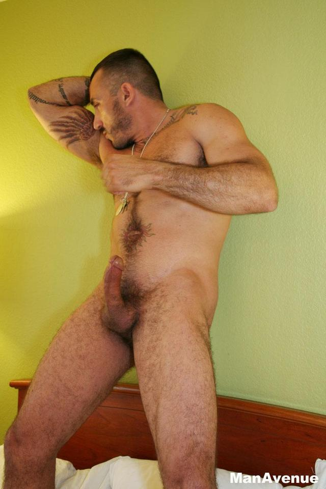 Bryan Cavallo naked hairy pits