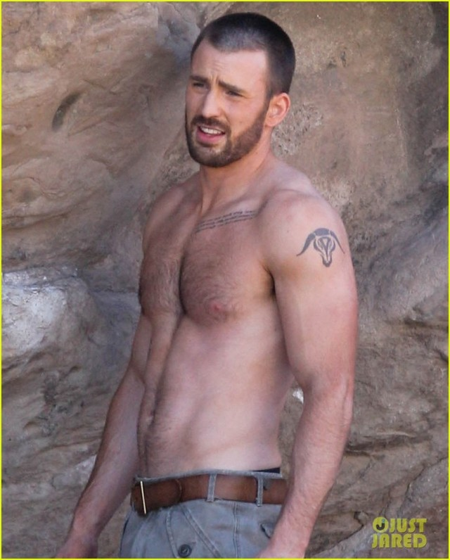 Chris Evans Gay Nude magazine chris shirtless evan details