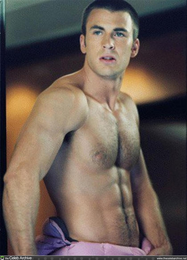 Chris Evans Porn chris shirtless who evans would four fantastic rather pine