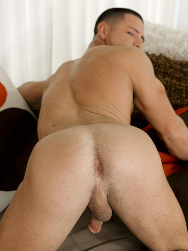 Ebony Muscular Jock Ass Drilled Deeply