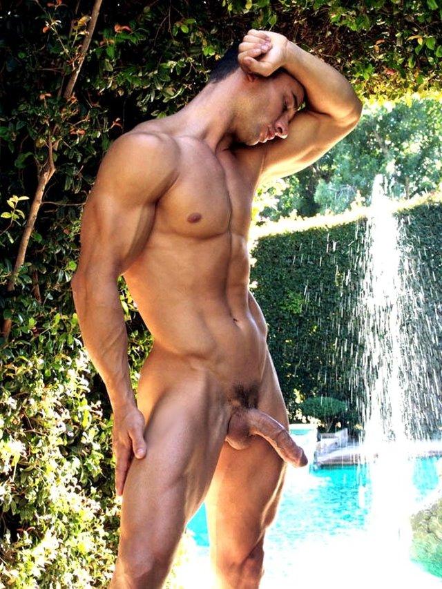 Naked men public nude