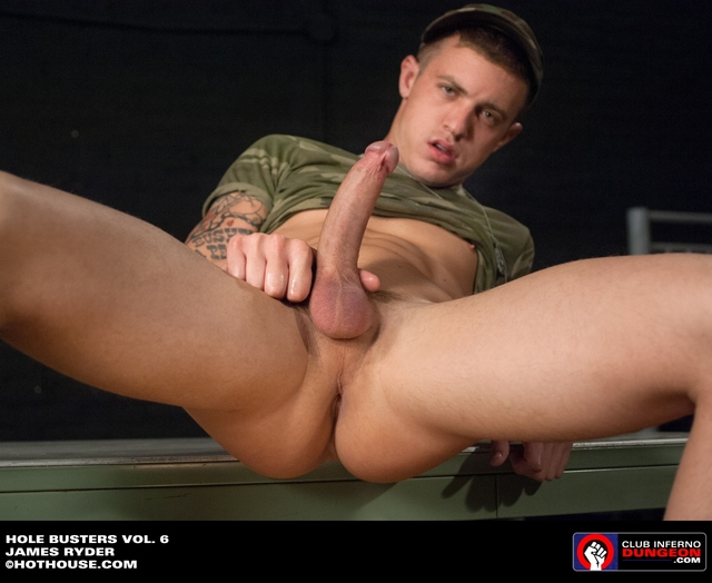 Fetish Gay Porn gay fuck hole dildo busters dungeon soldier