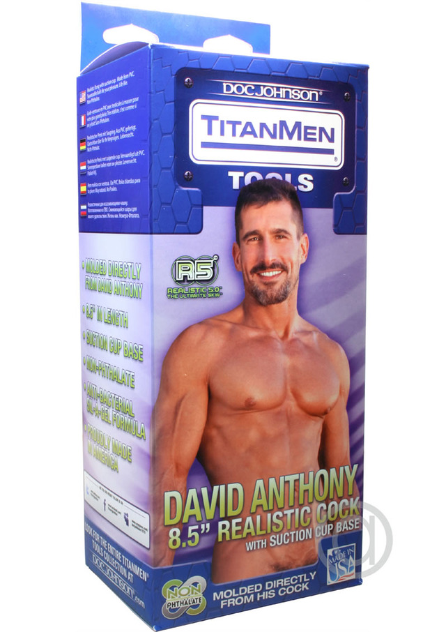 Gay men with toys cock anthony david inch titanmen inventory realistic tdetail