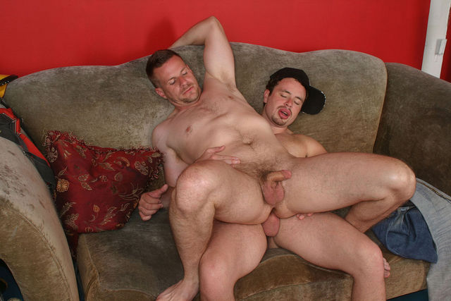 Three gay guys having sex