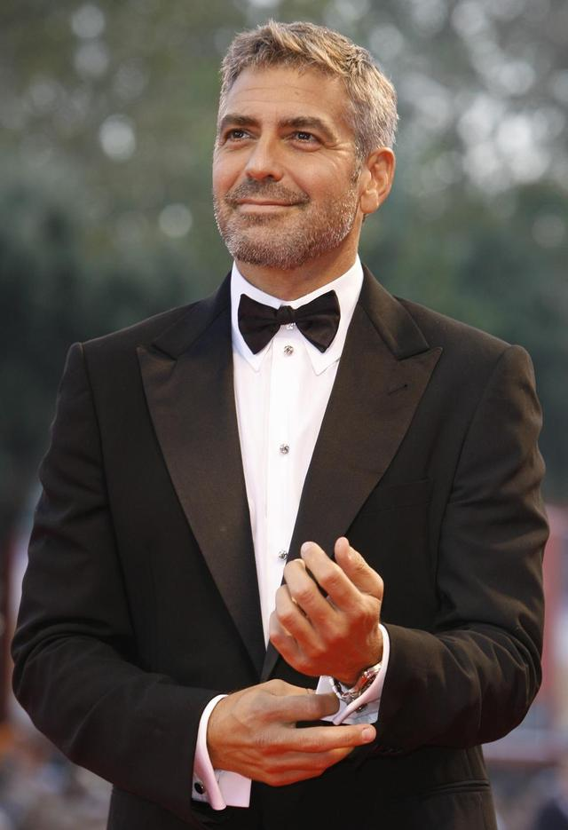 George Clooney Gay Nude nominees sexiest george clooney oscars venice