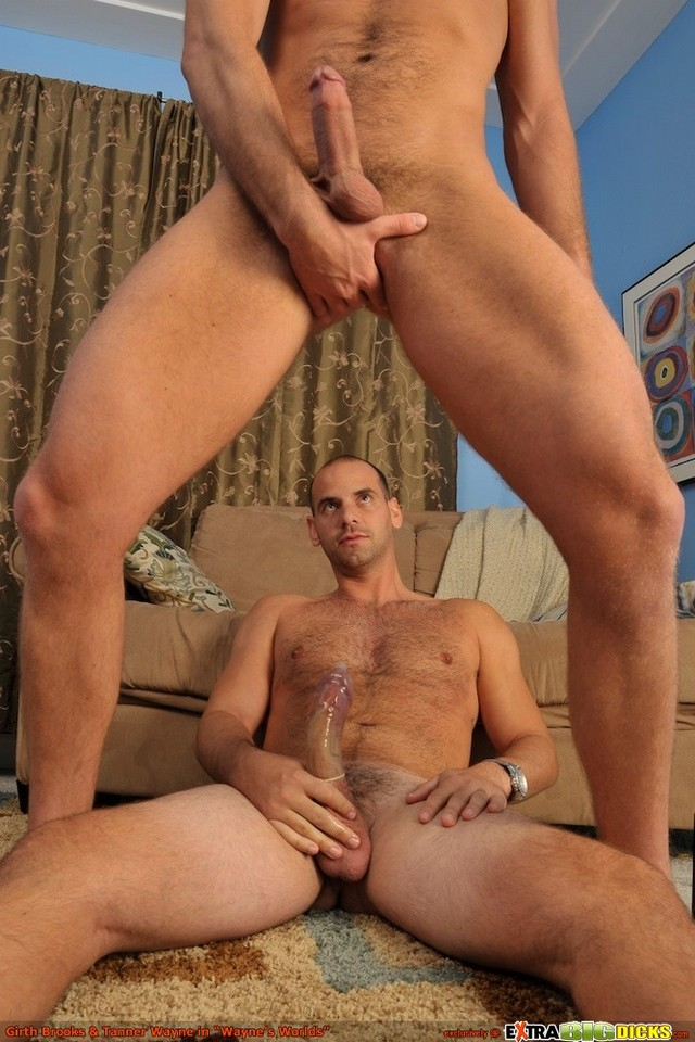 Girth Brooks Porn cock his gay thick massive brooks girth slams whopper