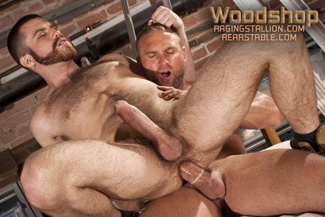 Hardcore Gay Pics hairy porn tight muscular gay star fucked hardcore tom fuck guys ass action jockstrap masculine beard boots trent wolfe locke passionate woodshop