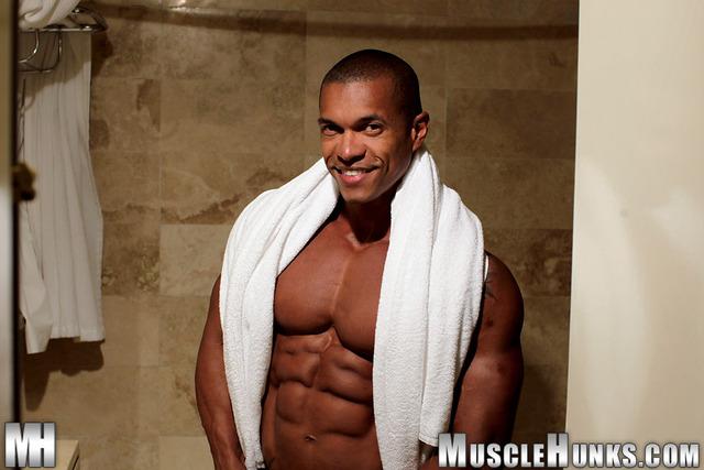 from Jayceon black gay body builder