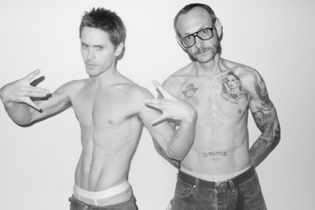 Jared Leto Gay Nude gallery gets shirtless like enlarged jared leto terry richardson