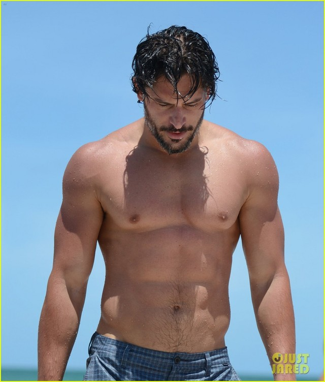 Joe Manganiello Porn shirtless joe manganiello miami
