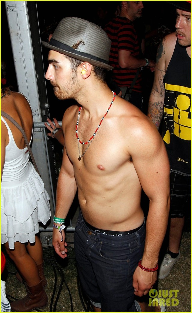 Joe Manganiello Porn stars shirtless joe jonas coachella