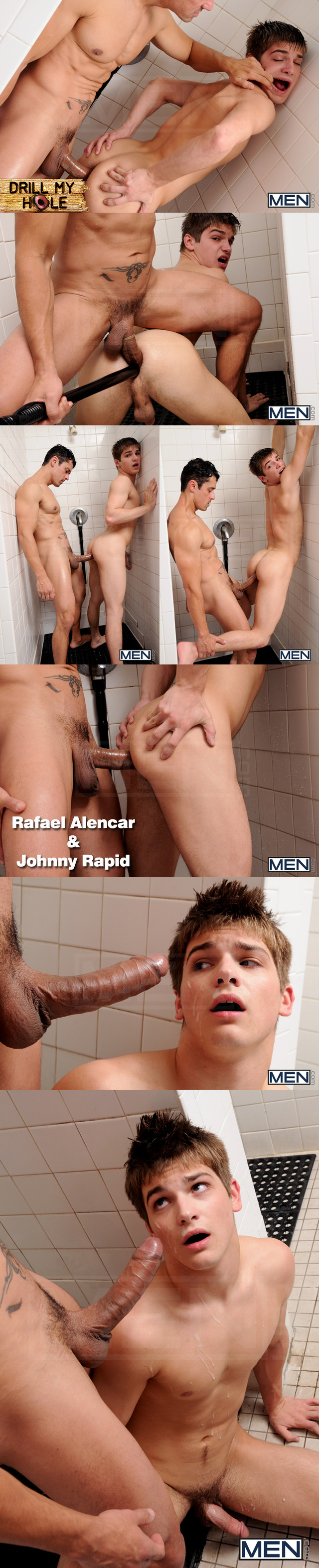 Johnny Rapid Porn johnny rapid hardcore shower prison rafael alencar