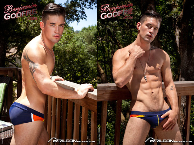 Male models Gay Porn porn gay model models benjamin meet when fashion godfre