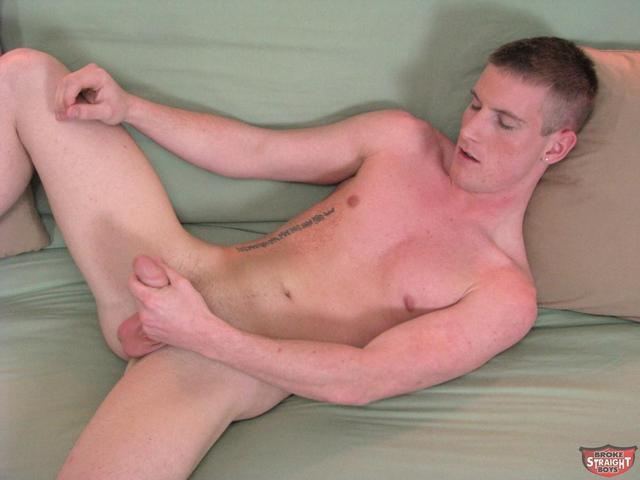 Free solo male masturbation