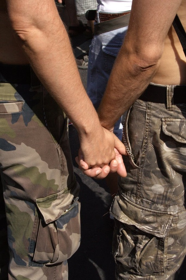 Military Gay Pics gay military couple hand holding