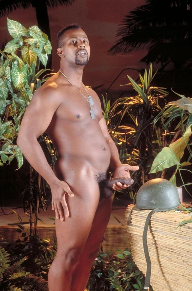 Military Gay Pics black dick his huge gay but military straight nothing poses pointing stan helmet