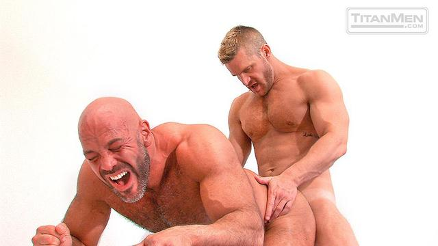 Muscled Gay Porn hairy muscle porn category gets gay fucked bear ass amateur daddy landon conrad jesse pounded jackman titanmen