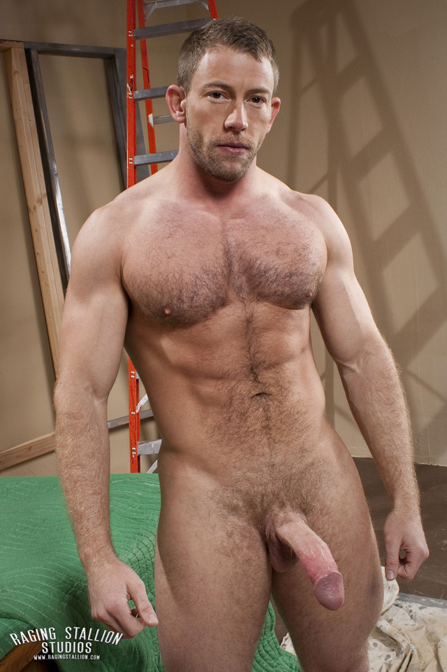 Shay Michaels Porn hairy beefy shay michaels ragingstallion dicked