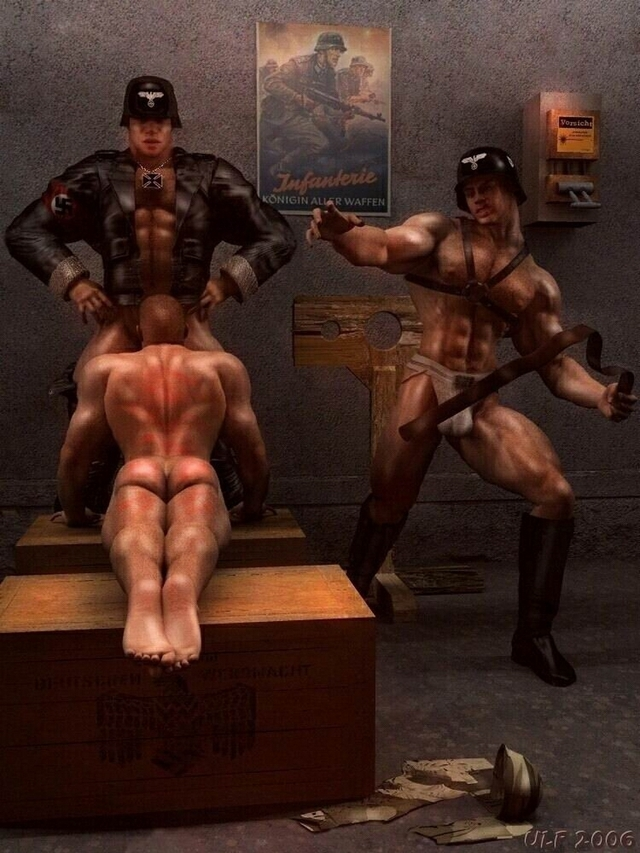 gay 3d porn gay pics naughty bdsm soldiers exciting