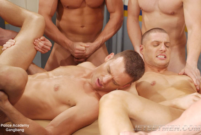 gay action pics gay action gangbang police academy jetsetmen