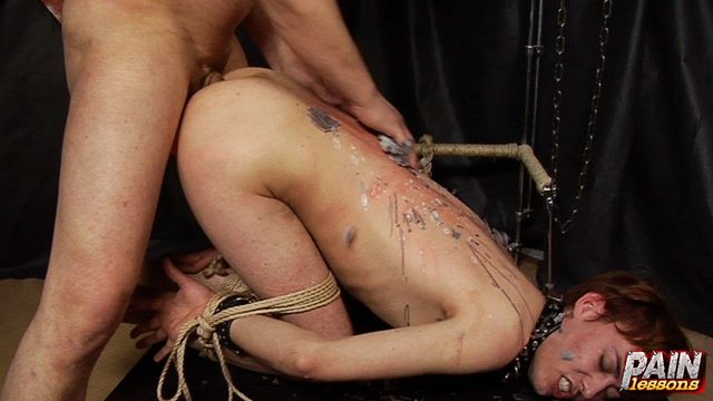 gay anal sex hot torture wax