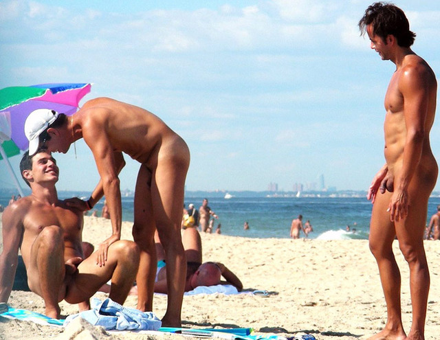gay and nude gay nude beach provocative