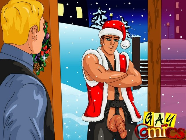 gay anime sex Pics gay comics christmas