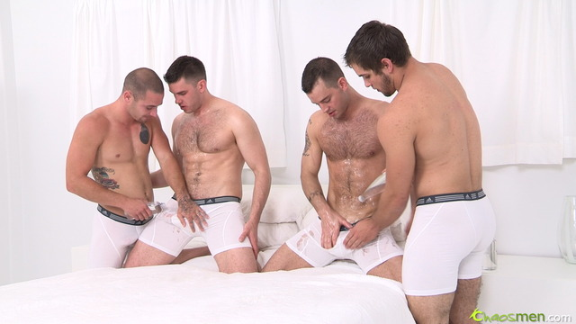 gay bareback porn free porn men gay chaos bareback play have four foursome vander bay aries glenn