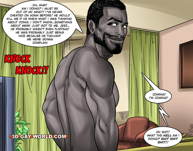 gay cartoon porn comics gay comics interracial hun