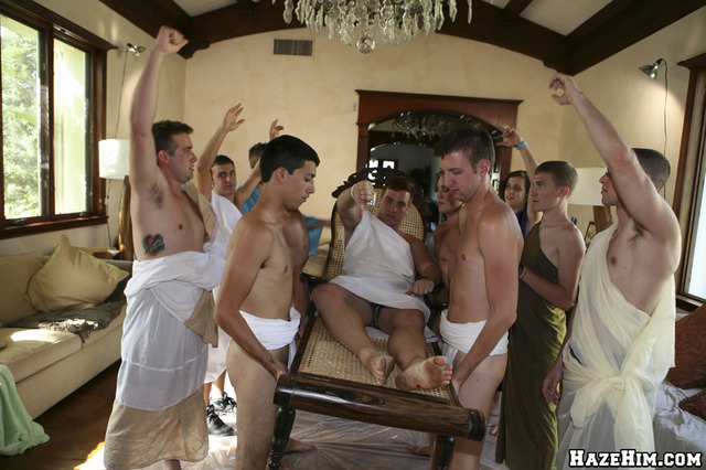 gay frat porn category gay nude guys frat party toga