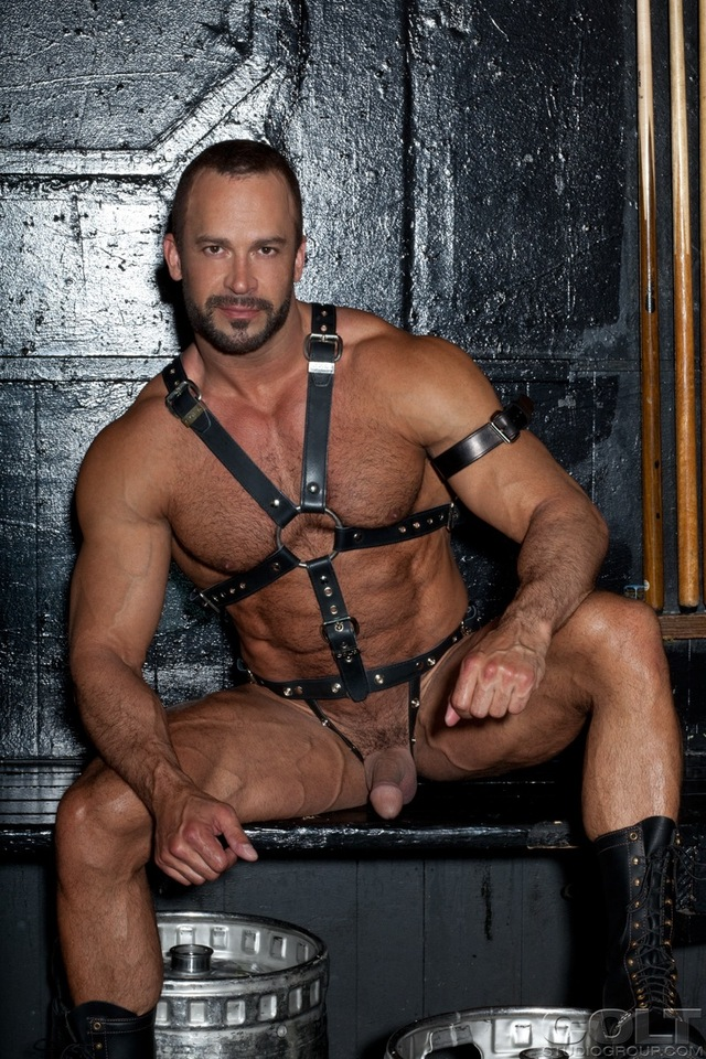 gay leather porn colt tops nate karlton samuel leather muscles