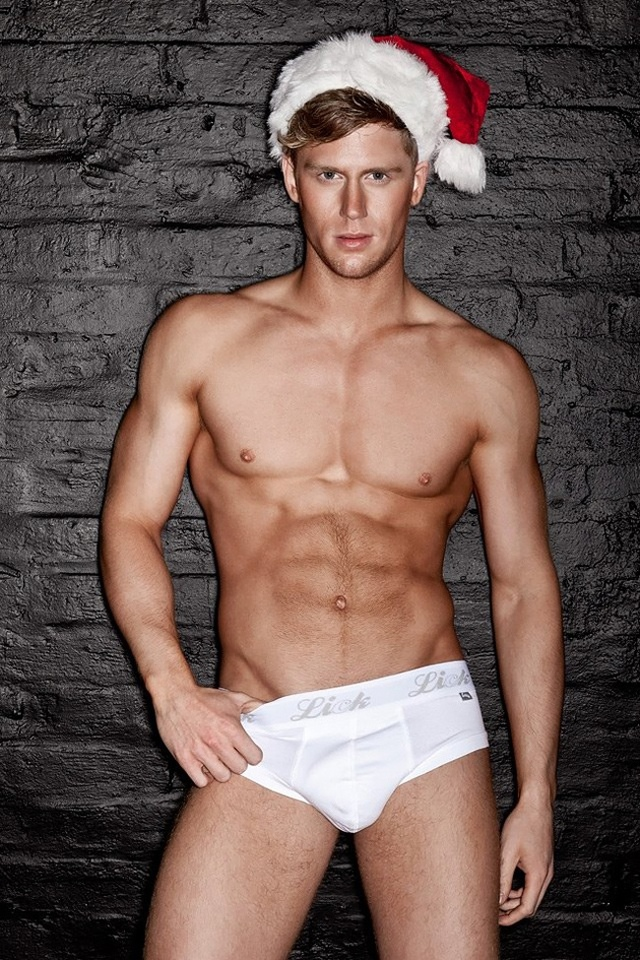 gay male underwear porn dec christmas underwear lick