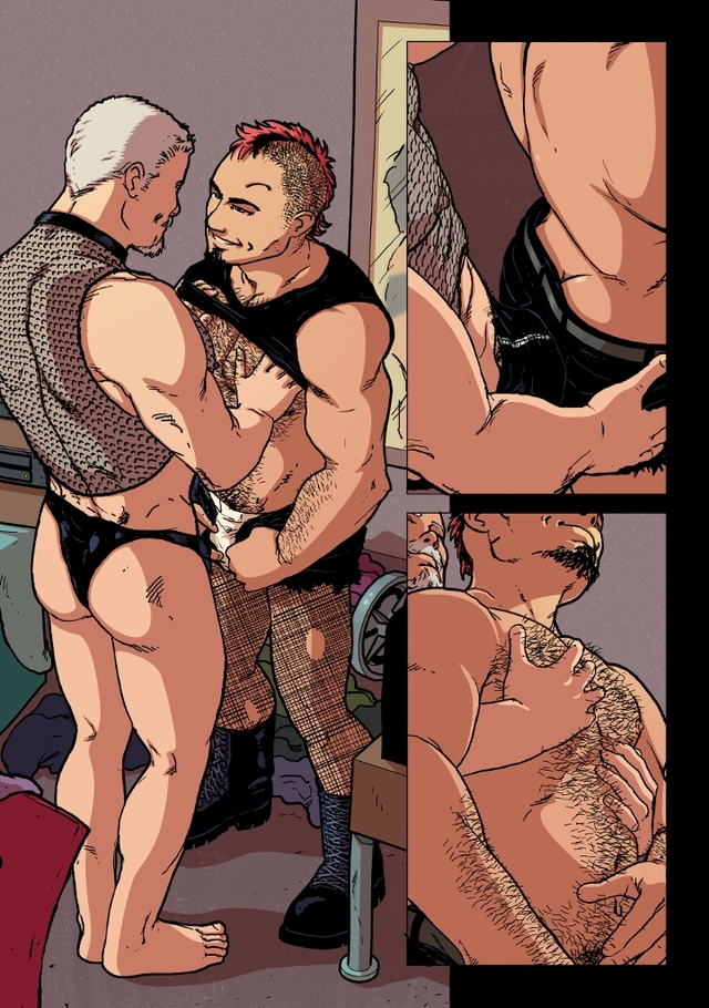gay porn comic comics month lgbt nightlife